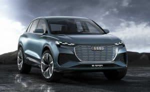 Audi Q4 E-tron Concept - פני העתיד